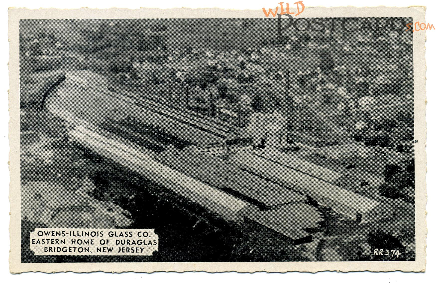 Owens-Illinois Glass Company Postcard at Wild Postcards - Postcard ...