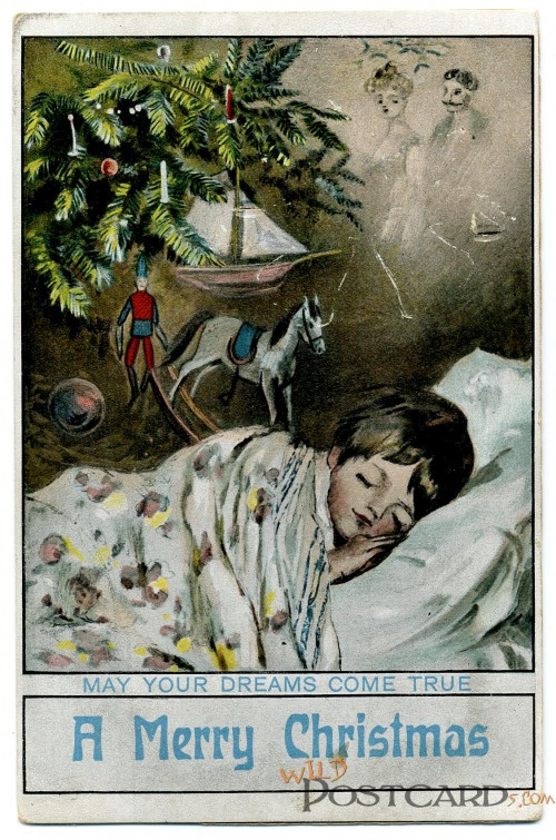 A Merry Christmas: May Your Dreams Come True