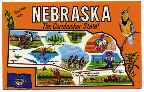 Nebraska: The Cornhusker State!