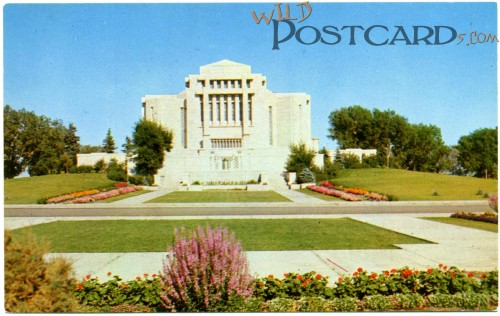 Mormon Temple, Cardston, AB (#18413)