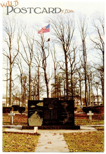Veterans Memorial, Landis Park, Vineland, New Jersey