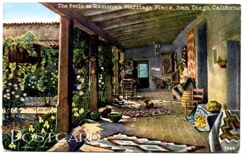 The Patio at Ramona's Marriage Place, San Diego