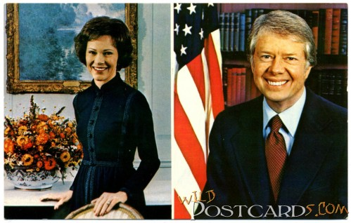 Rosalyn and Jimmy Carter
