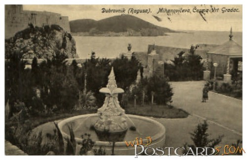 City Park, Dubrovnik (Black-and-White) from eBay.at