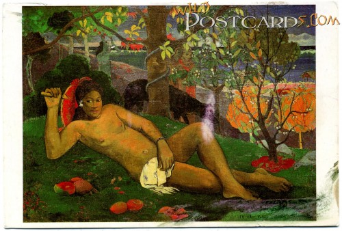 """Te arii Vahine"" by Paul Gauguin"