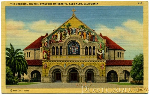 The Memorial Church, Stanford University, Palo Alto, California