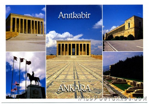 Anıtkabir, tomb of Atatürk, Ankara, Turkey