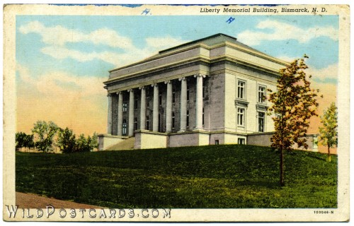 Liberty Memorial Building, Bismarck, North Dakota
