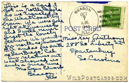 A postcard for Kay Anthony