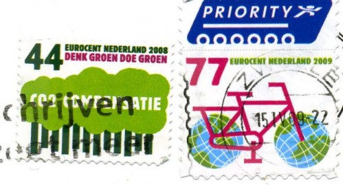 Environmentalist Stamps from the Netherlands