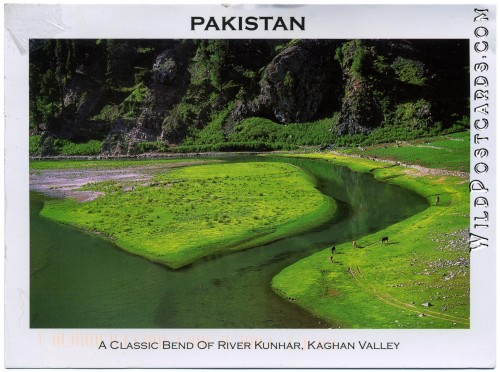 A Classic Bend of River Kunhar (Photo by Aamir Rashid)
