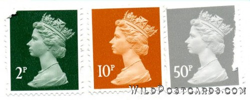 UK Stamps featuring Queen Elizabeth II