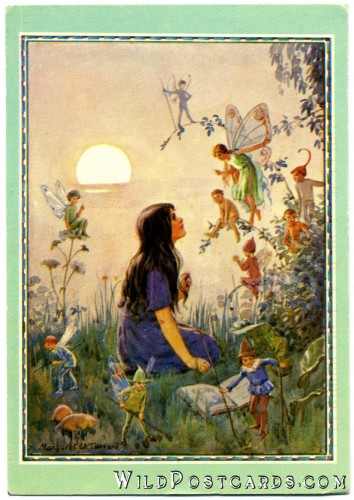 """Fairy Secrets"" by Margaret W. Tarrant"