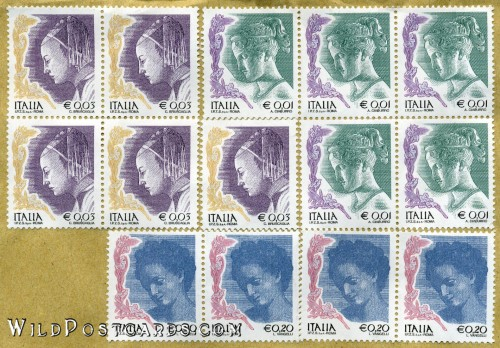 Uncancelled Italian Stamps
