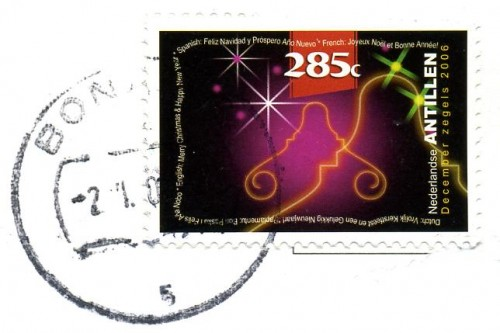 Netherlands Antilles Christmas Stamp (2006)
