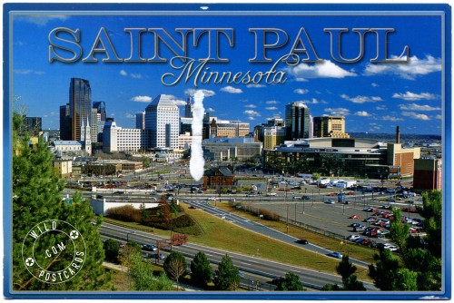 Beautiful downtown Saint Paul