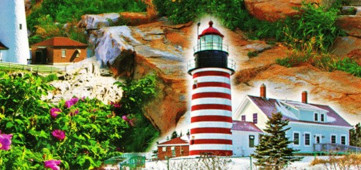 Lighthouses of Maine (Detail)