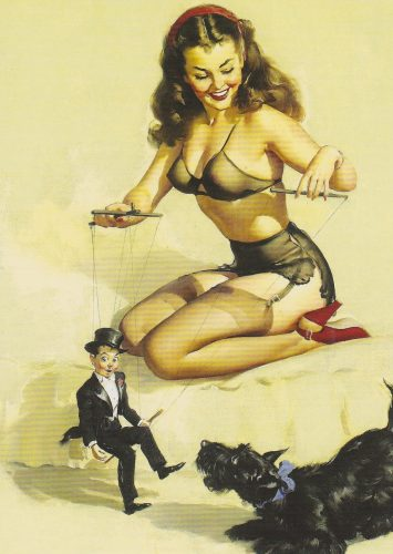 They're Easy to Handle When You Know How, Pinup, Gil Elvgren (P12)