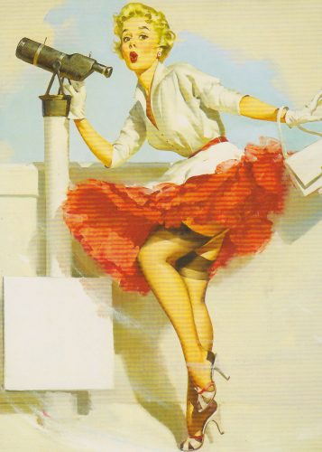 What a View, Pinup, Gil Elvgren (P04)