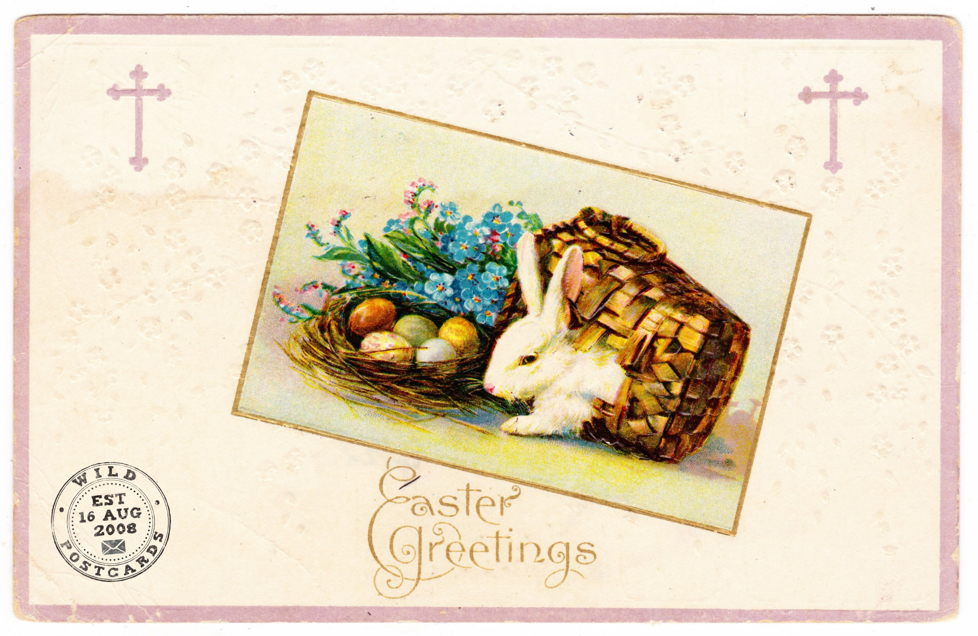 Easter Greetings From Aunt Annie Wild Postcards