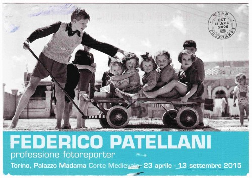 Federico Patellani Exhibition Postcard