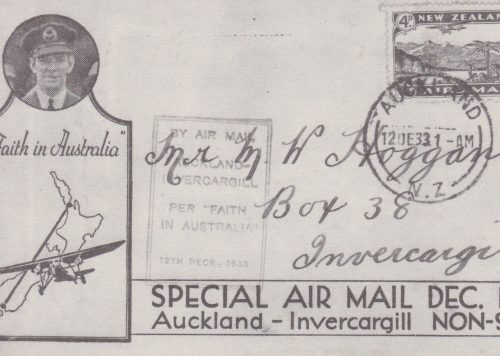 Australia New Zealand Special Air Mail (L11)