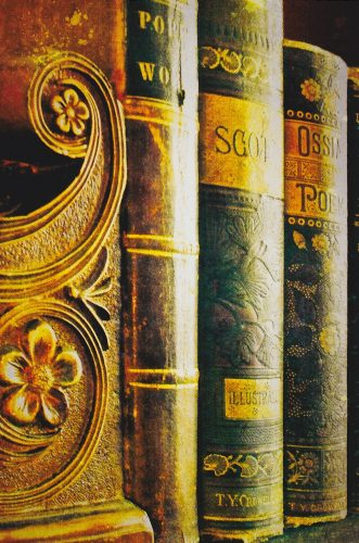 Books with Decorative Spines (E10)