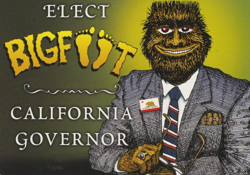 California: Elect Bigfoot Governor (Q27)