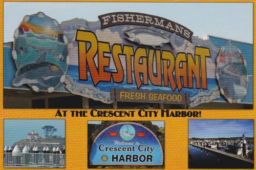 California: Fisherman's Restaurant, Crescent City (Q07)