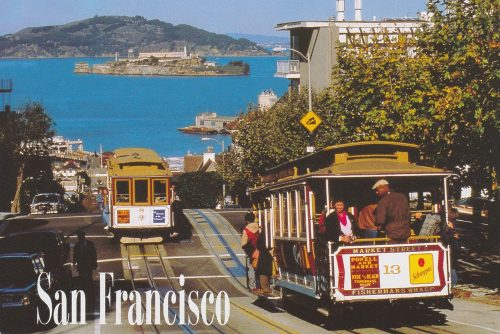California: San Fran, Cable Cars, Hyde Street (Q14)