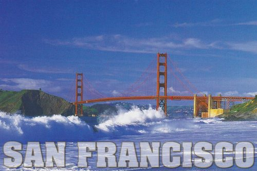 California: San Fran, Golden Gate, Baker Beach (Q17)
