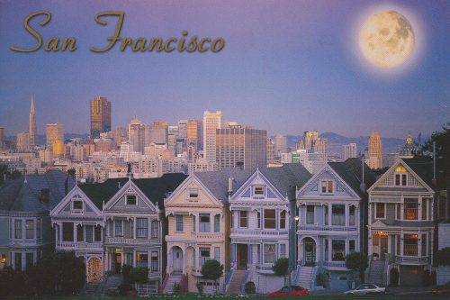 California: San Francisco, Victorian Houses (Q16)