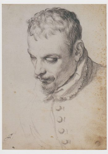 Carracci - Portrait of a Man (J15)