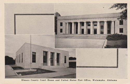 Courthouse and Post Office, Wetumpka, AL (1930s) (G04)