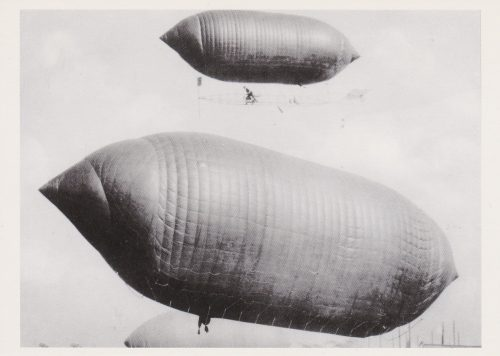 Dirigible Balloon Race, 1908 (I21)