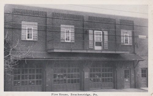 Fire House, Brackenridge, PA (1930s) (G08)