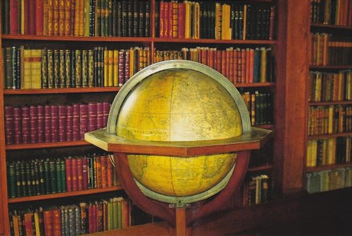Giant Globe and Library (E04)