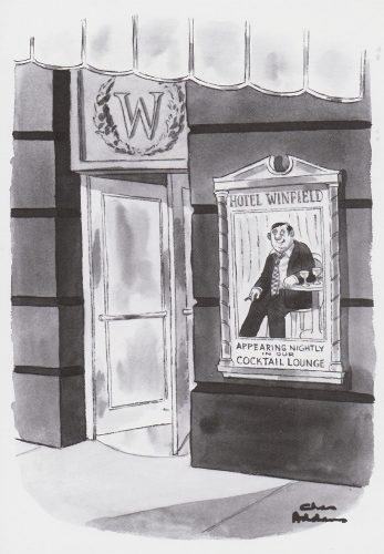 Hotel Winfield (Charles Addams) (T25)