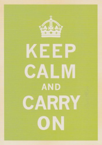 Keep Calm Green (T02)