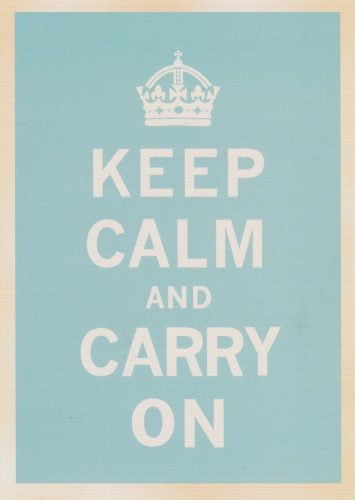 Keep Calm Light Blue (T03)