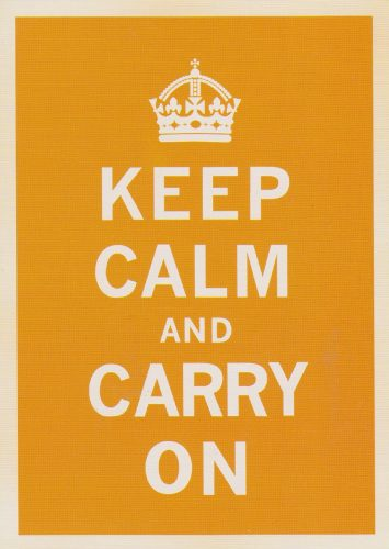 Keep Calm Orange (T04)