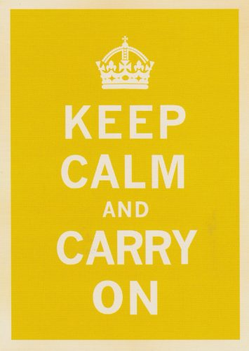 Keep Calm Yellow (T07)