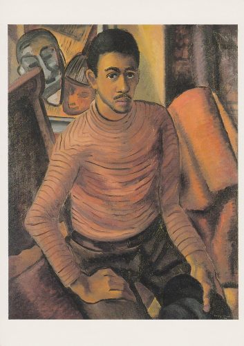 Malvin Gray Johnson - Self-Portrait (J18)