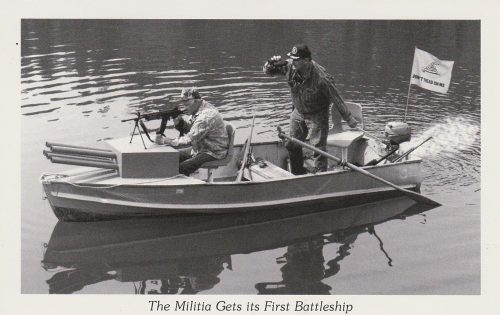Militia's First Battleship (T22)