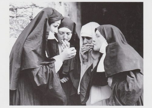 Nun Smoke Break (I24)