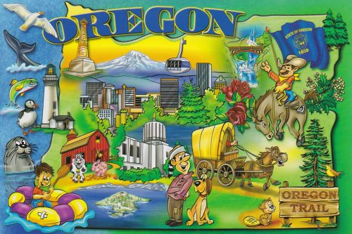 Oregon: Attractions (C16)
