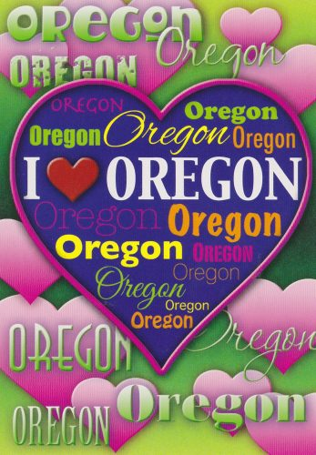 Oregon: I Love Oregon (C06)