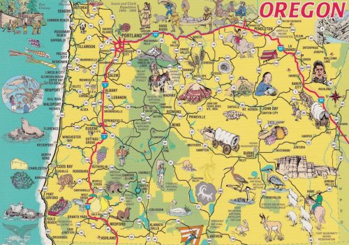 Oregon Map (E21)