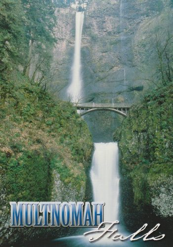 Oregon: Multnomah Falls (C12)