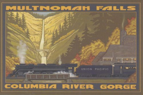 Oregon: Multnomah Falls Train (G27)